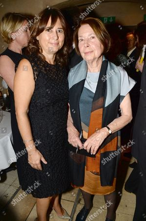 Stock Picture of Alexandra Shulman and Drusilla Beyfus