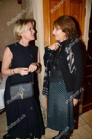 Fiona Golfar and guest