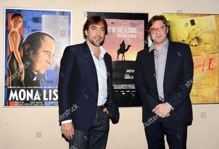 Javier Bardem and Alvaro Longoria