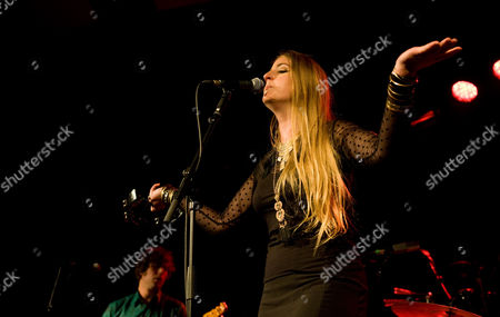 Stock Photo of Trembling Bells - Singer and guitarist Lavinia Blackwall