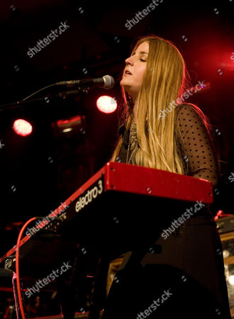 Stock Image of Trembling Bells - Singer and guitarist Lavinia Blackwall