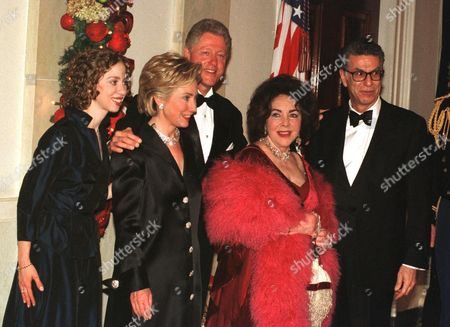 Editorial image of Countdown to Midnight at the White House, Washington DC, America - 31 Dec 1999