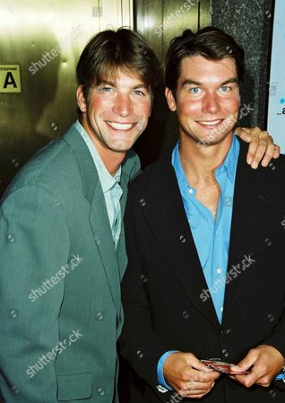 Stock Photo of Charlie O'Connell and Jerry O'Connell