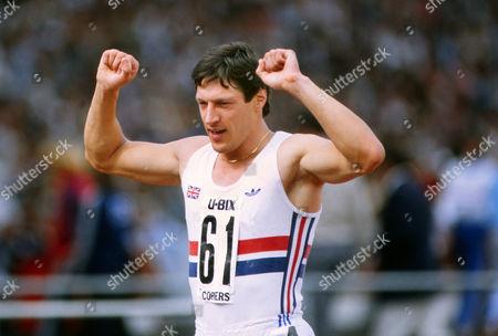 Athletics - 1984 U-Bix Copiers Meeting - Crystal Palace Allan Wells of Scotland 1984 U-Bix Copiers Meeting