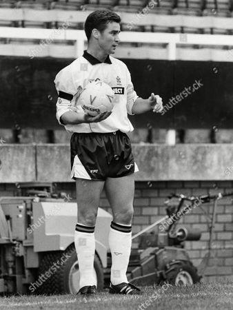 Football : Fulham v Cambridge United 01/09/1990 Mark Newson- Fulham Fulham v Cambridge