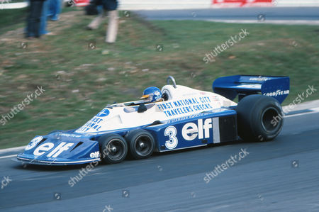 Motorsport - Race of Champions - Brands Hatch Ronnie Peterson in a six wheel Tyrrell P34 Formula One F1 Car
