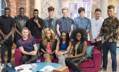 Gary Barlow with Miss Dynamix, Rough Copy and Kingsland Road