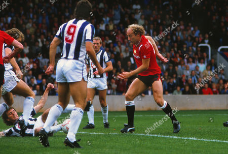 Football Alan Brazil (Man Utd)West Bromwich Albion v Manchester United21/09/1985 WBA 1 Man Utd 5