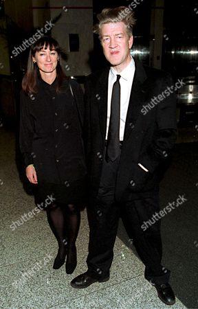 DAVID LYNCH AND MARY SWEENEY AT THE NEW YORK FILM CRITICS CIRCLE AWARDS