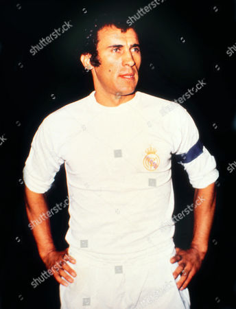 Football - 1973 / 1974 UEFA Cup - First Round First Leg: Ipswich Town 1 Real Madrid 0 (19/09/1973) Amancio Amaro of Real Madrid (and Spain) at Portman Road UEFA Cup R1: Ipswich 1 Real Madrid 0