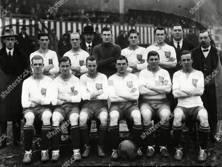 Football - 1923 / 1924 season - New Brighton Team Group Back (left to right): William 'Billy' Kirsopp (also Everton Bury and Grimsby) Jones M Reid ---- Mehaffy Glover Gee ----- ----- Front: John 'Jack' Reid Whitten William 'Billy' Crooks (also trialled with Manchester United) John 'Jack' Lyons (also Hull City and Leeds United) Allan Mathieson (also Luton Town and Exeter City) Matthew 'Matt' Burton (also trialled with Everton Stoke City and Wrexham) New Brighton - 1923/4