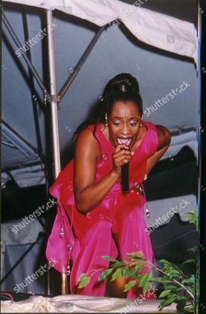 REGINA BELLE AT THE CARIBBEAN'S 7th MAJOR JAZZ FESTIVAL HELD IN BARBADOS AT VARIOUS VENUES 2000