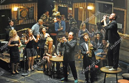 Editorial image of 'The Commitments' musical at the Palace Theatre, London, Britain - 02 Oct 2013