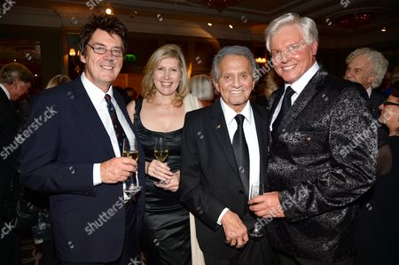 Mike Reid, guest, Buddy Greco and Jess Conrad