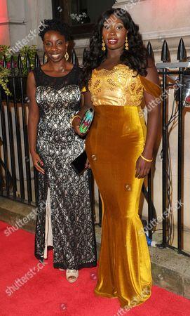 Destiny Ekaragha and Bola Agbaje