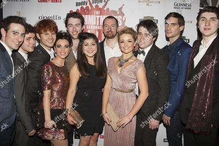 Stock Picture of Mark Dugdale, Andrew Linnie, Matthew Wycliffe, Sarah O'Connor, Denis Grindel, Stephanie McKeon, Killian Donnelly, Jessica Cervi, Brian Gilligan, Thomas Snowdon and Padraig Dooney