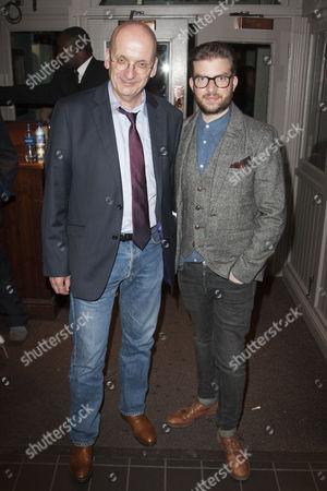 Stock Photo of Roddy Doyle and Jamie Lloyd