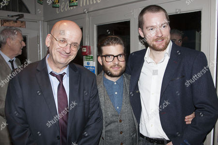 Stock Image of Roddy Doyle, Jamie Lloyd and Killian Donnelly