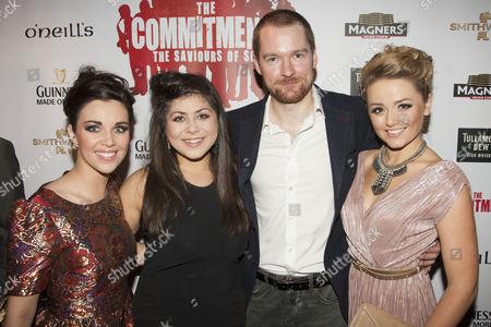 Sarah O'Connor, Jessica Cervi, Killian Donnelly and Stephanie McKeon