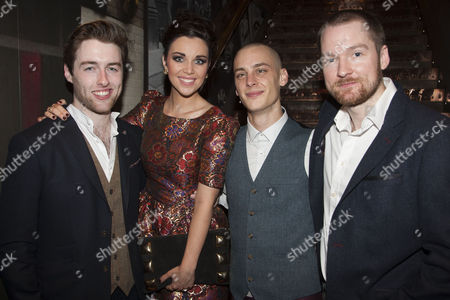 Stock Photo of Denis Grindel, Sarah O'Connor, Joe Woolmer and Killian Donnelly