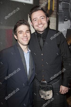 Stock Photo of Ian McIntosh and John McLarnon