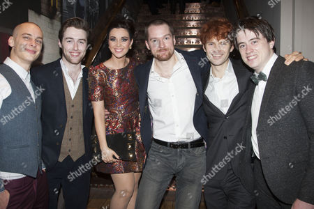Stock Photo of Joe Woolmer, Denis Grindel, Sarah O'Connor, Killian Donnelly, Matthew Wycliffe and Brian Gilligan