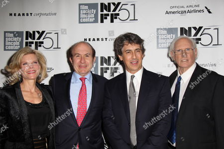 Deborah Dauman, Philippe Dauman, Alexander Payne and Bruce Dern