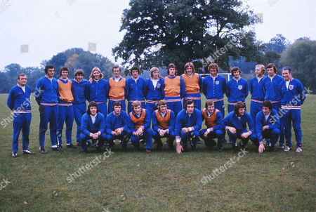 Football - 1974 FIFA World Cup Qualification - Group Five: England 1 Poland 1 The England squad train at Roehampton before the match at Wembley Back (left to right): Les Cocker (trainer) Trevor Brooking Dave Watson Emyln Hughes Tony Currie Paul Madeley Norman Hunter Colin Bell Ray Clemence Phil Parkes Martin Chivers Peter Storey Bobby Moore Martin Peters Harold Shepherdson (coach) Front: Kevin Keegan Kevin Hector Colin Todd David Nish Peter Shilton Allan Clarke Mick Channon Roy McFarland England 1 Poland 1