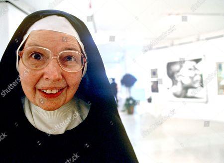 Stock Photo of Sister Wendy Beckett