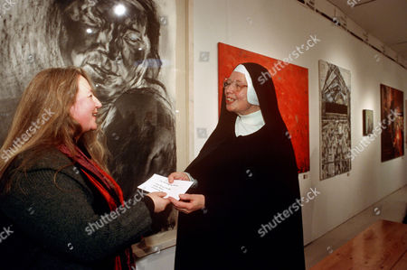 Editorial picture of Hunting Art Prizes, Royal College of Art, London, Britain - 2000