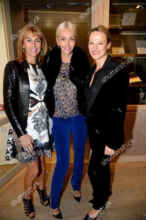Stock Image of Assia Webster, Amanda Cronin and Valentina Salmeri