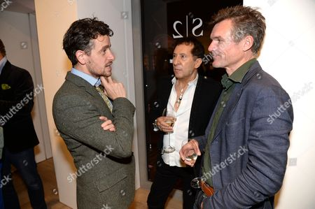 Editorial image of S2 gallery opening, London, Britain - 09 Oct 2013