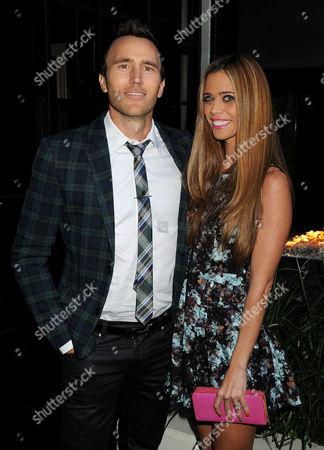 Stock Image of Lydia McLaughlin and husband Doug McLaughlin