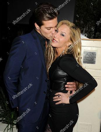Adrienne Maloof-Nassif and boyfriend Jacob Busch