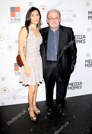 Missy Brody and Salman Rushdie