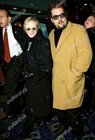 Stock Image of Glenn Close and Robert Pastorelli