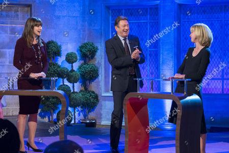 Nicola Bonn, Alan Titchmarsh and Rachel Ragg