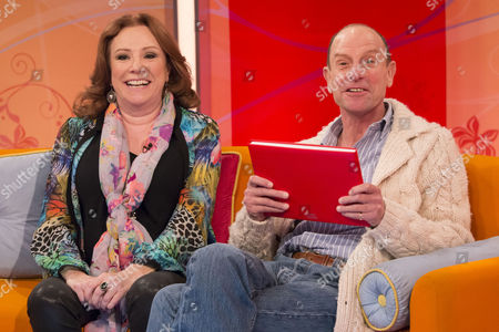 Stock Picture of Melanie Hill and Philip Martin Brown