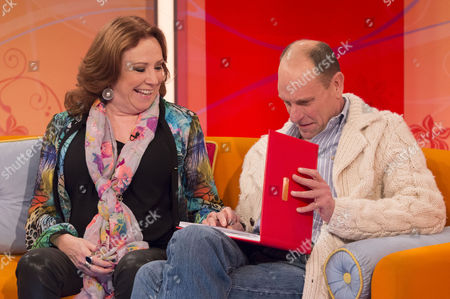 Stock Image of Melanie Hill and Philip Martin Brown