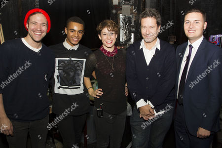Will Young, Layton Williams, Suzi Ruffell, Wes Streeting and Alexi Kaye Campbell (Author)