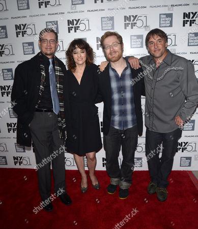 Jason London, Parker Posey, Anthony Rapp and Richard Linklater