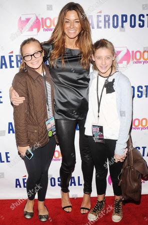 Kelly Bensimon with daughter Thaddeus Ann Bensimon and friend