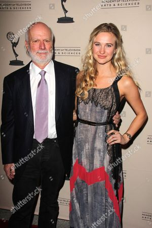 Stock Image of James Burrows and Paris Burrows