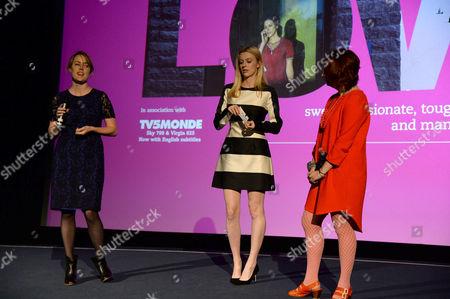 Nicole O'Donohue, Gracie Otto and guest
