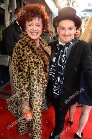 Patricia Quinn and guest