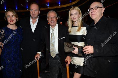 Nicole O'Donohue, guest, Michael White, Gracie Otto and guest