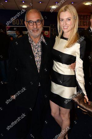 Alan Yentob and Gracie Otto