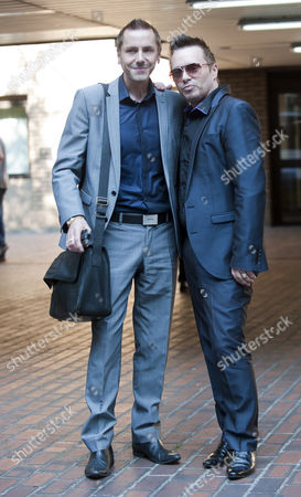 Barrie Drewitt-barlow (left) And Tony Drewitt-barlow(right) Appearing At Southwark Crown Court Charged With Fraudulently Fabricating Clinical Trials On Children For Their Company Euroderm Research.