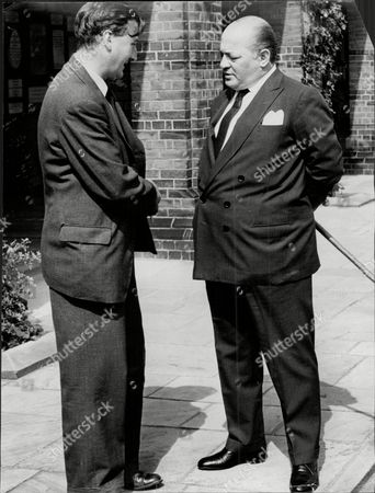 Siegi Sessler (right) Owner Of Siegis Club Siegi Sessler Was One Of London's Most Famous Restaurateurs And Club Owners Of The Late 1940s '50s And '60s. He Started Club Life After The Second World War And In 1950 He Opened Siegi's Club At 46 Charles Street In The Heart Of London's Mayfair. Siegi's Became The First Of The Mayfair Establishments Later Including The Claremont Club Annabel's Tramp Harry's Bar And The Colony Club. Well Known To Be The 'home From Home' For Hollywood Stars Frank Sinatra Humphrey Bogart Bob Hope Crosby Niven Brando Monroe John Wayne Cary Grant Bette Davis Clark Gable Doris Day Joan Crawford Ingrid Bergman And Elizabeth Taylor. It Was Also The Place Where Studio Moguls Producers And Directors Forged Their Deals Often Under Siegi's Watchful Eye And Prime Ministers Mixed With Shipping Magnates Sportsmen Enjoyed The Mutual Admiration Of Singers And Authors And Artists Mixing Seamlessly With Royalty And The Not So Royal. It Was Described By Legendary Coloumnist Marjorie Proops As 'a Sort Of Madame Tussauds For Live People... A Safe Haven For The Friendless And A Place Impossible To Leave Without A Pocketful Of Introductions For All Four Corners Of The Globe. You May Not Have Wanted To Lunch With Brando In La Or Safari With William Holden At His Mt. Kenya Safari Club However Once Out Of The Door You Were Committed And Often Compelled To Be Their House Guests Although A Stranger...and You May Have Only Popped In For A Night Cap Before Bed!' It Was Often Considered The Twin Brother Of New York's 21 Club And Siegi Vaunted As London's Best Dressed Man Was As Well Known For His 'back Room' Gin Rummy Games As He Was For His Patronage Of The London Boys Club Federation Whose Royal Patron Was Prince Philip Duke Of Edinburgh For Which He Raised Many Thousands Of Pounds.