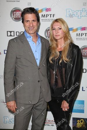 Steven Levitan with wife Krista Levitan